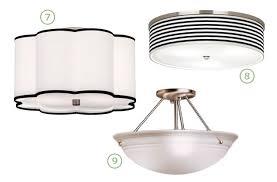 flush mount kitchen ceiling light fixtures bronze polished