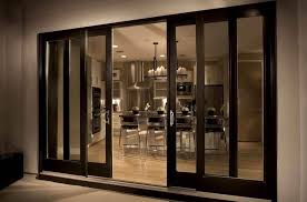 4 Panel Sliding Glass Patio Doors For Modern Kitchen And Dining Room