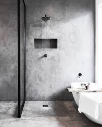 mensola bagno nero piastrellanerobagno badezimmer