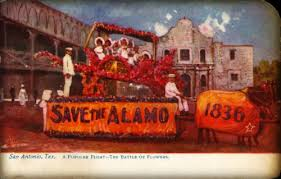 Parade Float Decorations In San Antonio by San Antonio Battle Of Flowers Parade First Launched During