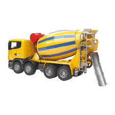 100 Bruder Trucks Toys Scania RSeries Cement Mixer Truck With Functioning Drum