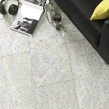 Modern Living Room With Granite Floor Tiles