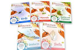 Peterson Field Guide Educational Coloring Book Bundle 5 Piece