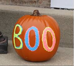 Images Of Decorated Pumpkins For Halloween