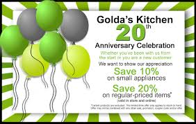 Golda's Kitchen (CA): Celebrating 20 Years With 20% Off ...