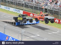 Adelaide Australia. 4th March 2018. 650 Horsepower Stadium Super ... Super Stadium Truck Sst Supercheap Auto Blog Trucks Alaide 500 Are Like Mini Trophy And They Racing Speed Energy Series St Louis Missouri Introducing What The Checkered Flag Spectacular To Roar At Castrol Edge Townsville Bittntsponsored Female Racer Rocks In Toronto Matt Mingay Roll Over Crash Clipsal 2016 Stadium Super Trucks Geddit Offroad Cartel Speed Presented By Traxxas Set Kick