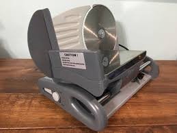 Deni Electric Food Slicer Model 14200 | EBay
