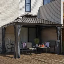 Palram Feria Patio Cover Uk by Covers U0026 Shades Costco Uk