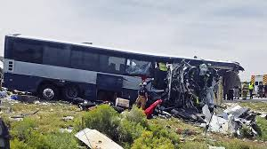 Greyhound Bus, Semitruck Crash Head-On In New Mexico; At Least 7 ...