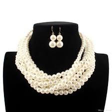 100 Where Is Dhgate Located Wholesale White Imitation Pearls Bridal Jewelry Fashion Wedding Gift