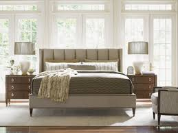 King Platform Bed With Upholstered Headboard by Tower Place Barrington Upholstered Platform Bed Lexington Home