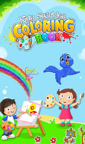 Kids Sparkles Coloring Book IPhone IPad
