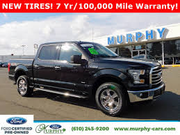 Certified Pre-Owned 2015 Ford F-150 XLT Pickup Truck In Delaware ... Allnew Ford F150 Redefines Fullsize Trucks As The Toughest 2015 Used At Sullivan Motor Company Inc Serving Phoenix Preowned 4wd Supercrew 145 Xlt Baxter Lariat Crew Cab Pickup In Newtown Square Truck Magnetic Metallic For Sale Wenatchee 4854x Town Lebanon San Antonio 687 New Topoftheline Limited Is Most Advanced Luxurious F Extended Westbrook 157 North Coast Auto Mall