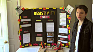 Easton Hing 8th Grade Science Fair Resistivity