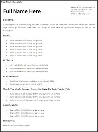 My First Job Resume Template Format Without Experience Within For