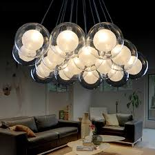 suspension chambre suspension chambre salon salle à manger g4 moderne led lustre ac85