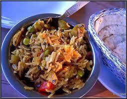 de cuisine indienne riz biryani de légumes recette cuisine indienne