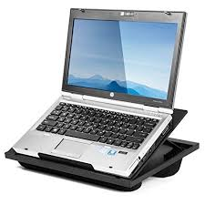 Halter Lap Desk Laptop Stand with 8 Adjustable Angles and Dual