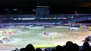 100 Monster Truck Oakland Advance Auto Parts Jam California Feb25