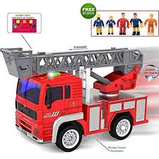100 Fire Truck Games Free FUNERICA Pull Back Vehicles Toy Lights Sounds