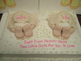 Baptism Decoration Ideas For Twins by 159 Best Baby Shower Cake For Twins Images On Pinterest Baby