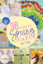 Spring Crafts For Kids Awesome 36 Simple Hands On As We Grow
