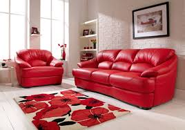 Italsofa Red Leather Sofa by Furniture Leather Sofa With Stainless Steel Legs And Shag Rug