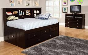 Wood Diy Twin Bed Frame With Storage Intended For Attractive