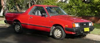 100 Subaru Pickup Trucks BRAT Wikipedia