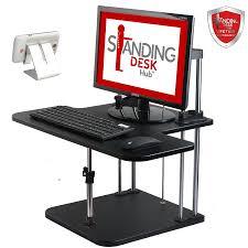 Office Depot Standing Desk Converter by Amazon Com Standing Desk Hub Sit Stand Desk Converter Adjustable