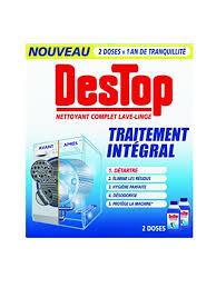 odeur linge machine a laver destop nettoyant complet lave linge 500 ml lot de 2 fr