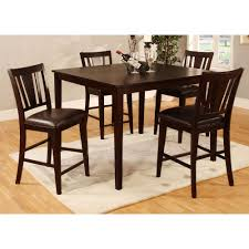 American Freight Dining Room Sets by Furniture Of America Cm3325pt 5pk Bridgette 5 Piece Counter Height