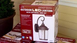 how to install outdoor light fixture costco s outdoor led porch