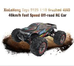 XINLEHONG TOYS 9125 1:10 Brushed 4WD Off-road RC Car - $63.99 Free ...