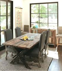 Rustic Elegant Dining Room Furniture Elegance