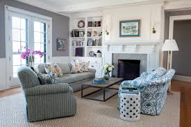 Country Style Living Room by Living Room Bring Summer Into The Living Room With Coastal