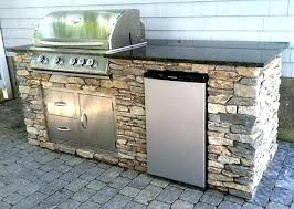 Diy Grill Island Outdoor Kitchen Island Without Grill Frame Plans