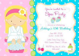 Free Spa Party Clipart