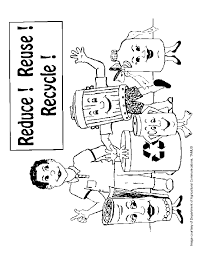 Lovely Recycling Coloring Pages 98 For Picture Page With
