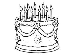 birthday cake to color birthday cake pictures color birthday cake coloring pages online birthday cake to color