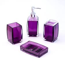 Walmart Purple Bathroom Sets by Accessories Agreeable Cool Purple Bathroom Accessories Plum Gray