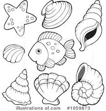 Royalty Free RF Fish Clipart Illustration by visekart