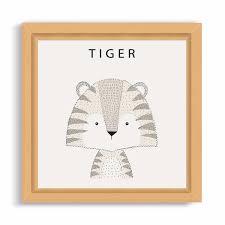 Dibujo Tigre Infantil