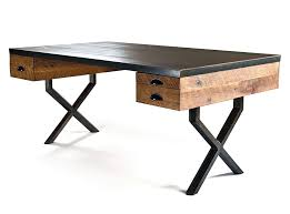 Reclaimed Wood Desk Top Office Furniture Modern Custom Excellent Reclaimed Wood Office Desk Custom Software Style At