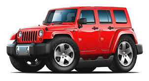 100 4 Door Jeep Truck Amazoncom Wrangler Unlimited Wall Graphic Decal