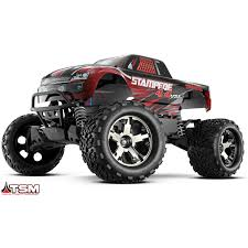 100 4x4 Rc Truck Traxxas 670863RED Traxxas Stampede VXL Red RC JEGS JEGS