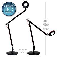 ottlite led crane desk l led lighting desk l
