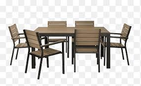 brauner holztisch und stuhl tisch bistro ikea stuhl