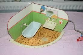 altes ddr eck badezimmer 60iger jahre puppenstube puppenhaus