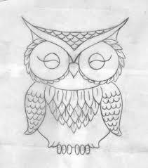 Cute Owl Tattoo Drawings